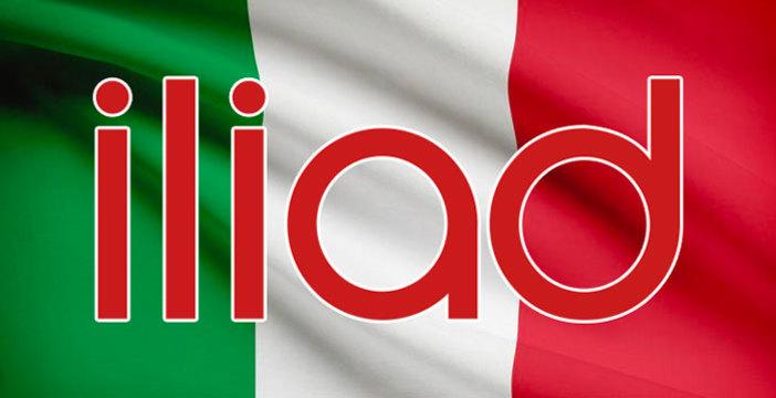 Logo utilizzato da Iliad Italia